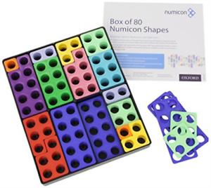 Numicon: Box Of 80 Numicon Shapes TOY NEU