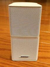 1 Bose White Jewel Double Cube Speaker Lifestyle 18/20/25/30/28/35/48/V30 or V35
