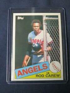 1985 Topps ROD CAREW Los Angeles Angels Baseball Card #300 MINT Free Shipping!