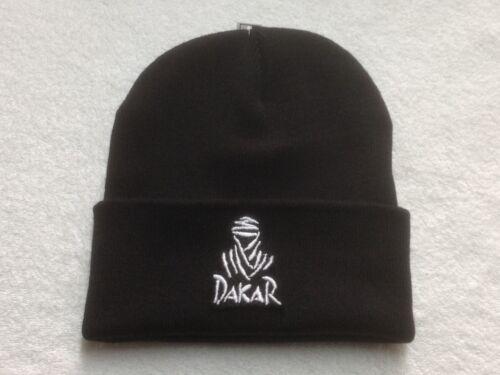Beanies Dakar Rally Caps Dakar Skull Bobble Hats Sew On Badge Hats