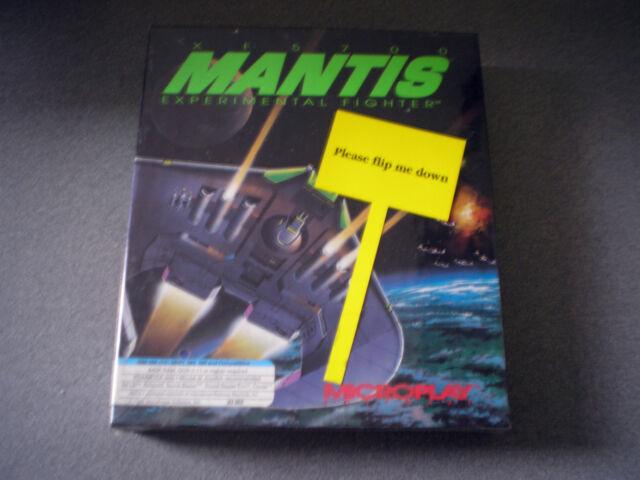 XF5700 Mantis Experimental Fighter  DOS  Big Box PC NEW  Simulation Combat