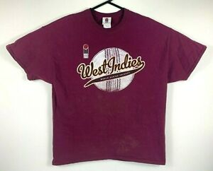 Vintage-West-Indies-World-Series-Cricket-T-Shirt-Size-XL-Official-Product
