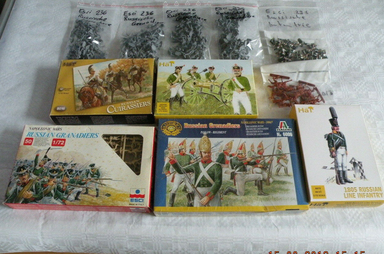 Napoleons Napoleons Napoleons Feldzug in Russland  7x Gren., 1x Lin., 1x Cuirassiere, 1x Artillerie  | Luxus  dfe833