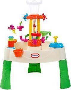 Little-Tikes-fuente-centro-de-actividad-de-tabla-de-agua-de-lujo-de-fabrica-aprender-amp-Splash
