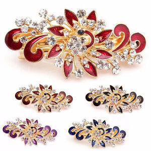 Fermaglio-Flower-accessori-capelli-clip-strass-acconciatura-fermacapelli-fiore