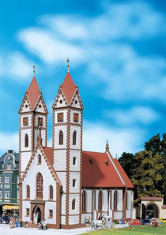Faller h0 130905-ciudad iglesia kit Artículo nuevo