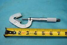 Used Starrett No 483 V Anvil Micrometer