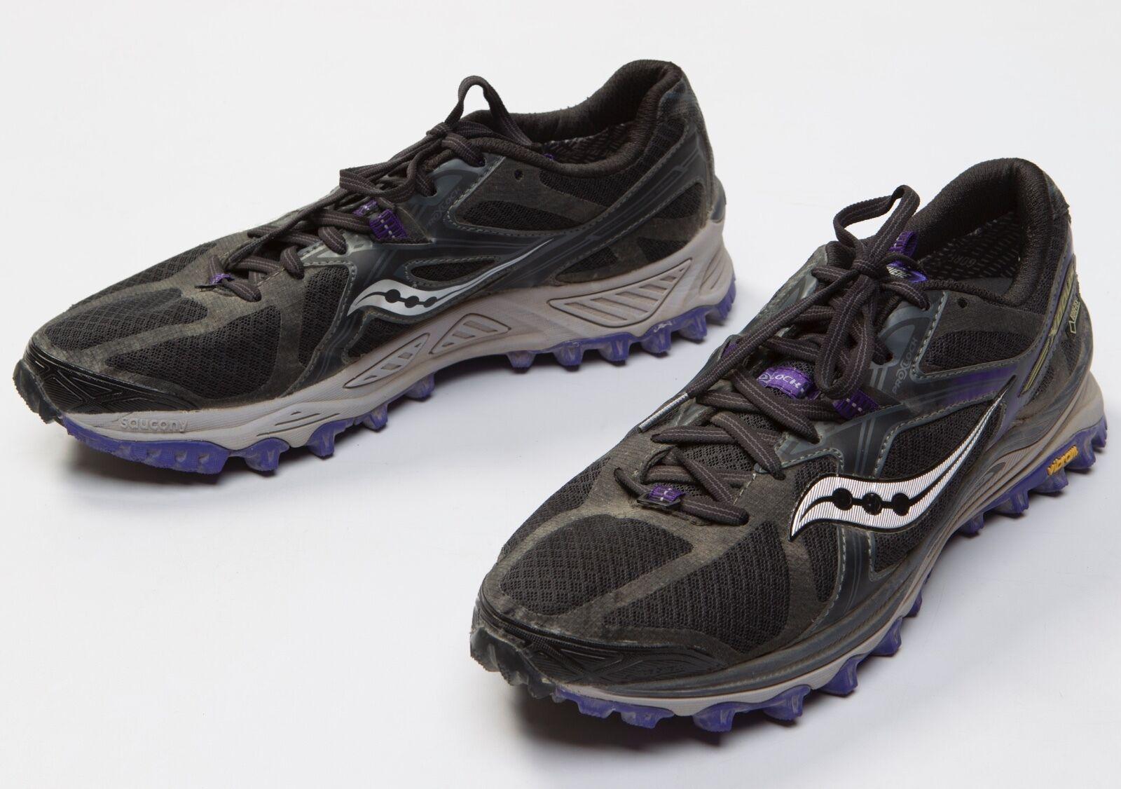 Women's Saucony Xodus Run Anywhere GTX GTX GTX Gore-Tex Waterproof Trail shoes Size 11 056221