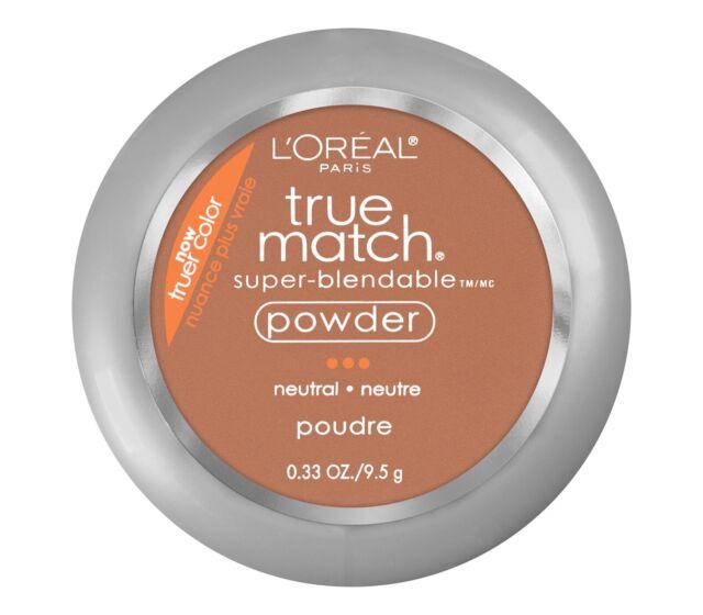 Loreal True Match Super Blendable Powder - N8 Cappuccino