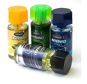 aroma car intenso spray bottle 50 ml car home perfume air freshener ebay. Black Bedroom Furniture Sets. Home Design Ideas