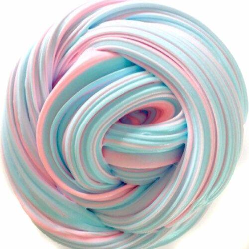 DIY Rosa Blu 60ml 40g Colore Fango Slime Fluffy Floam Halloween Regalo Argilla