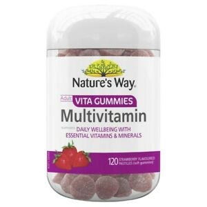 Nature-039-s-Way-Adult-Vita-Gummies-Multivitamin-120-Strawberry-Flavoured-Pastilles