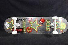 Skateboard Zero Complete Titanium Trucks Spitfire Element Santa Cruz Plan B Griz