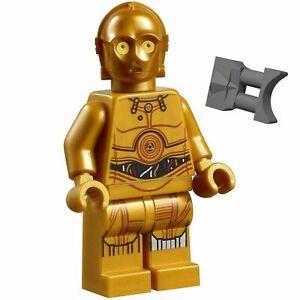 LEGO-STAR-WARS-C-3PO-Minifigure-Droid-C3PO-75222-75059-Binoculars-C3PO