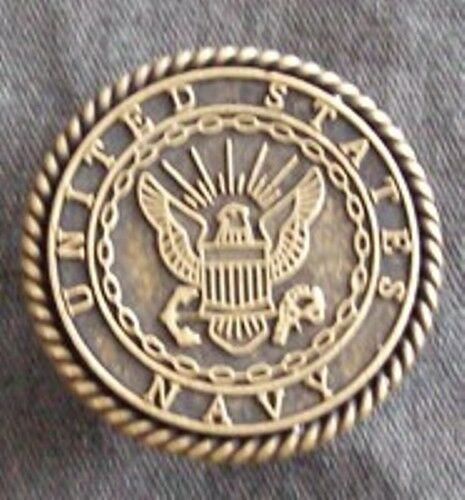 """6/"""" Chrome Chain Approx US Navy Antique Nickel Vest Extender-Extension"""