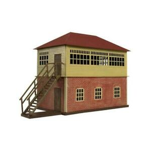 Atlas-717-HO-Scale-Trainman-Interlocking-Tower-assembly-kit