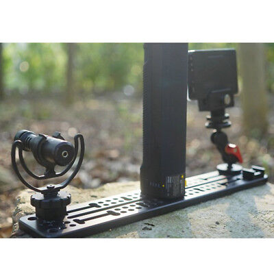 """1//4/"""" 3//8/"""" Cheese Plate Mounting Baseplate for Camera Stabilizer DSLR Rig"""