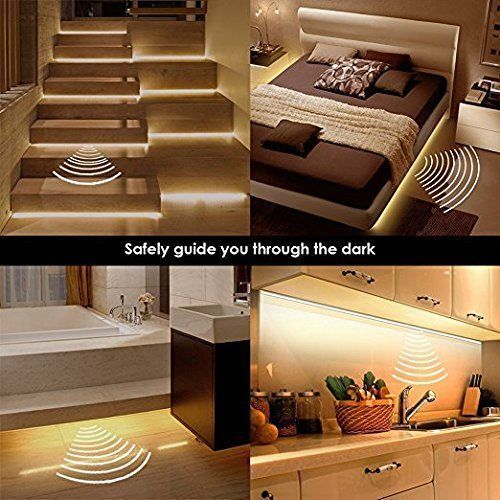 Nachtlicht Mit Bewegungsmelder Bett Bettlicht Led Streifen Dimmbar
