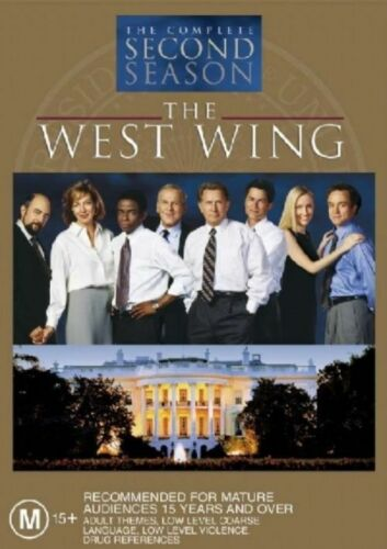 1 of 1 - The West Wing : Season 2 (DVD, 2004, 6-Disc Set)