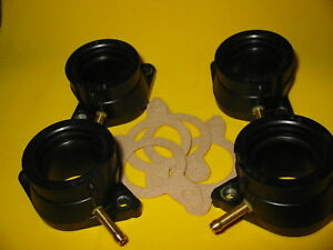 New FZ600 FZ6 Carb Holders Intake manifold boots and gaskets 11-6240