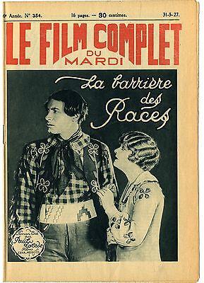 LA BARRIERE DES RACES Braveheart LILIAN RICH Rod La Rocque FILM COMPLET 1927