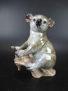 Koala Bear Australia 16 CM Animal Decorative Figures Animal Poly Glazed, New