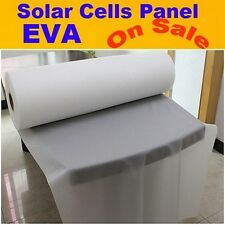 1M x 10M Solar Cells EVA Film Encapsulation Laminating Sheet For DIY Solar Panel
