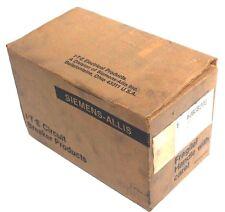 NIB SIEMENS I-T-E FJ63B200 CIRCUIT BREAKER 200AMP, 3POLE, 600VAC, TYPE FJ6, 78-3