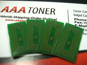 4 x Toner Reset Chips for Ricoh Aficio MP C2800 Ricoh Aficio MP C3300