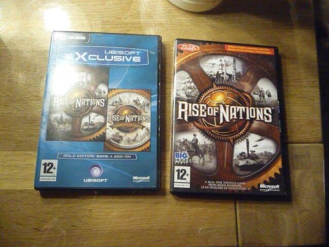 Rise Of Nations 1 + 2, til pc, anden genre