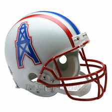 HOUSTON OILERS 81-96 THROWBACK NFL AUTHENTIC FOOTBALL HELMET