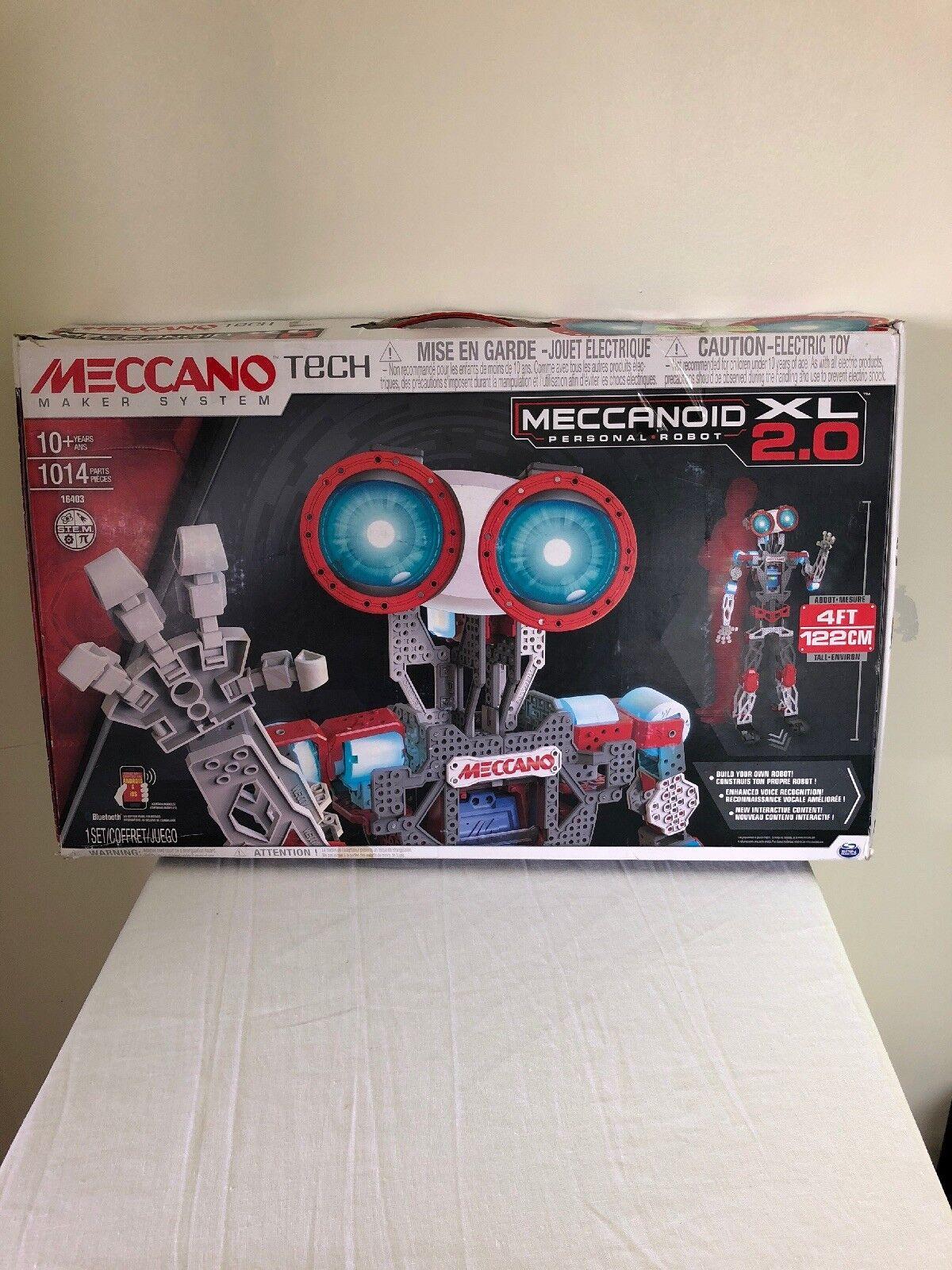 Meccano Tech meccanoid XL 2.0 robot personal