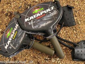 Korda-Katapult-Schwer-Oder-Licht-amp-Alle-Ersatzteile-Tasche-Elastisch-Karpfen
