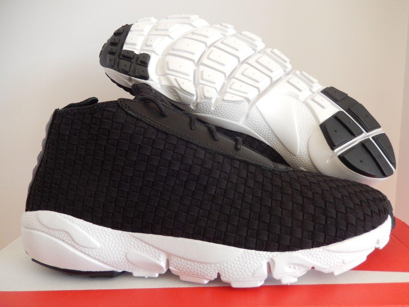 Nike air footscape wüste - chukka - - - schwarz-schwarz sz 11 [637162-001] 98405c