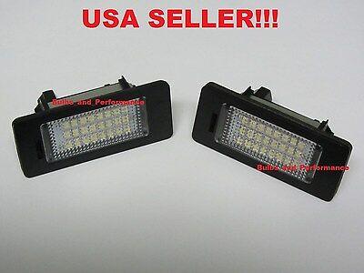 2X Error Free 18 LED License Plate Light Lamp For BMW E90 M3 E92 E70 E39 F30 E60