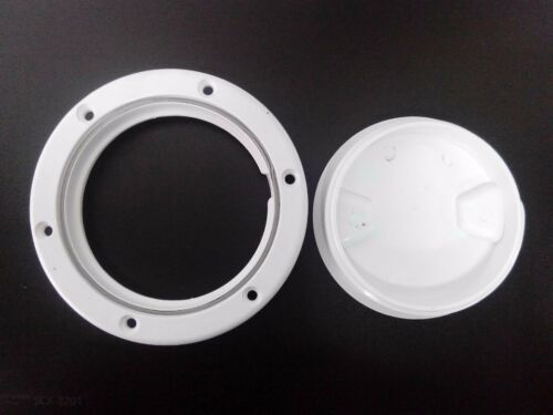 Marine 4/'/' round access hatch cover lid screw out deck boat plastic