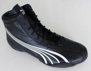 75e9023a45da New Puma Asana + Womens Black Leather High Top Sneakers Women s Size ...