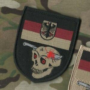 Kampfretter Der Luftwaffe German Para Rescue velkrö Flag: DIGGER in TOTENKOPF