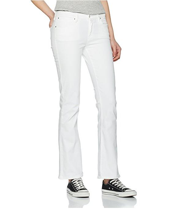 Jeans donna wrangler avviocut bianca w28bya26d bianca bianca bianca a zampa 8ca43a