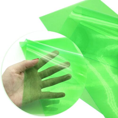 A4 Clear Candy Color Vinyl Soft Plastic SheetsDIY HandmadeBowsCraft