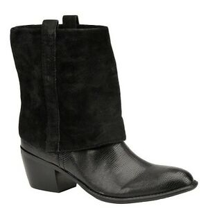 Image is loading Women-039-s-Franco-Sarto-Dart-Boot-Black-