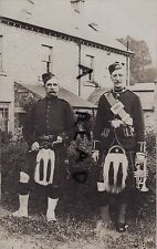 soldier Bandsmen Gordon Highlanders KOSB Kings Own Scottish Borderers Volunteer