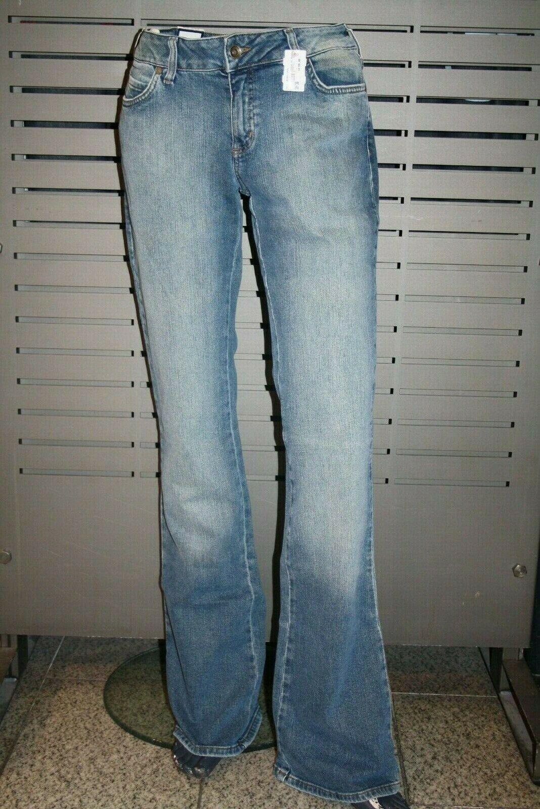 Mavi Jeans Ladies Amelie Boot Cut Super Low Rise Narrow Slightly Longer