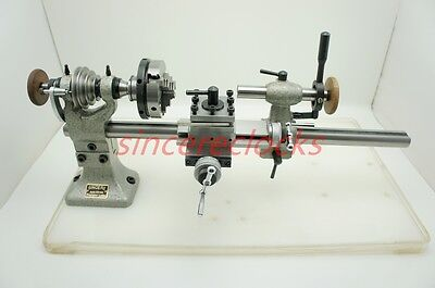 Longer Watchmakers Lathe with Φ65mm 3-Jaw Manual Chuck
