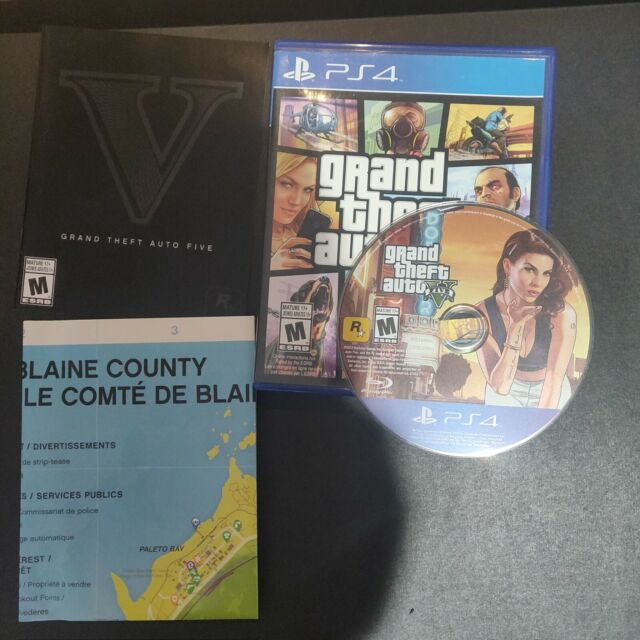 Grand Theft Auto V Premium Online Edition Ps4 COMPLETE