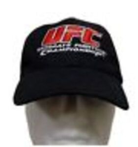 cadda3d7617 Image is loading UFC-Ultimate-Fighting-Championship-black-Cap-Hat-MMA-