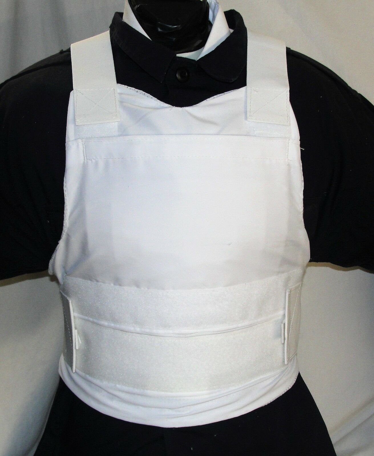 New Medium  Concealable Carrier IIIA Body Armor BulletProof Vest with Inserts  order online