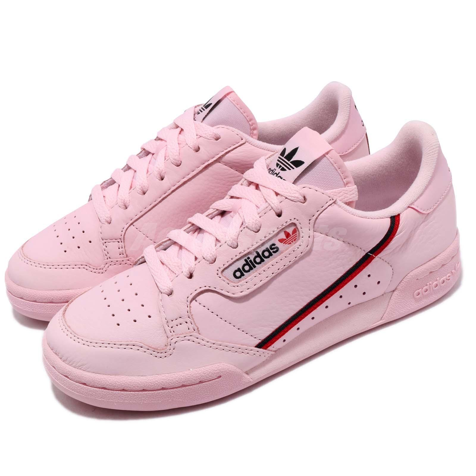 adidas Originals Continental 80 Pink Scarlet Navy homme Femme Casual chaussures B41679