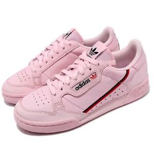 buy online 4896c 82252 Image is loading adidas-Originals-Continental-80-Pink-Scarlet-Navy-Men-