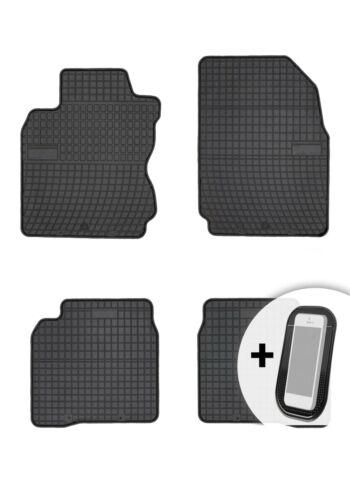 Gummimatten Gummi Fußmatten für Nissan Note 2006-2018